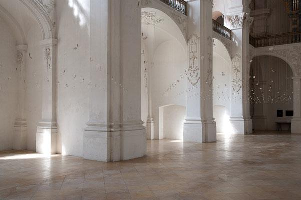 Abbatiale de Bellelay, Installation von Rudy Decelière 2012