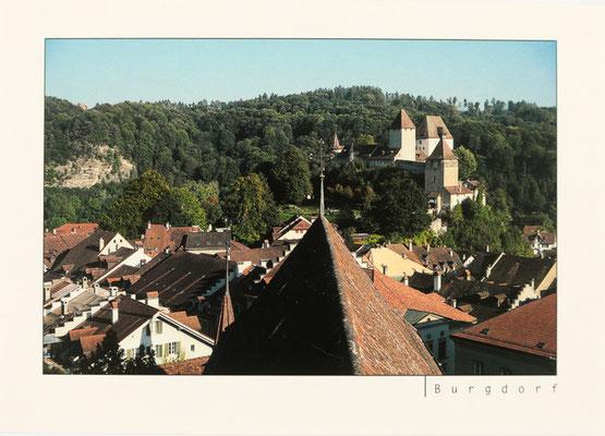 Altstadtdächer und Schloss Burgdorf (vergriffen)