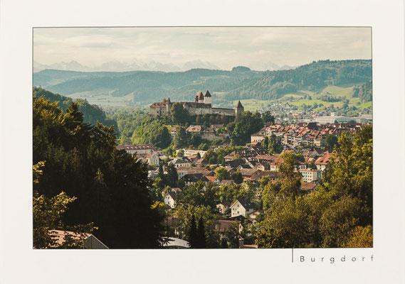 Schloss Burgdorf vom Wangelenrain aus
