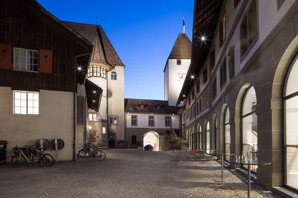 Schloss Burgdorf, Innenhof