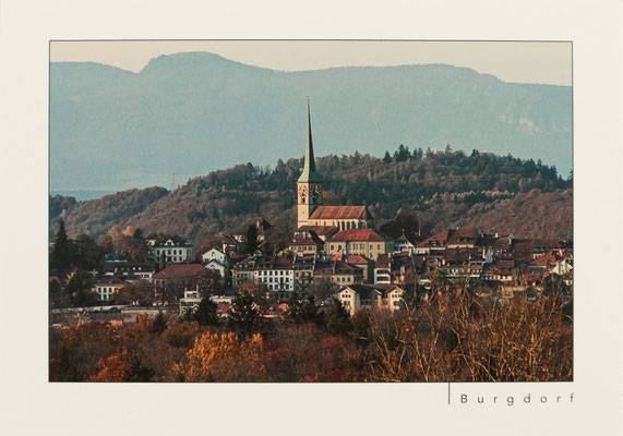 Altstadt und Stadtkirche von Bättwil aus