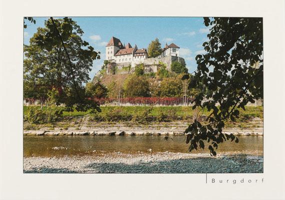 Schloss Burgdorf vom Emmeufer aus