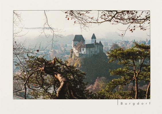Schloss Burgdorf von der Gisnauflüe aus