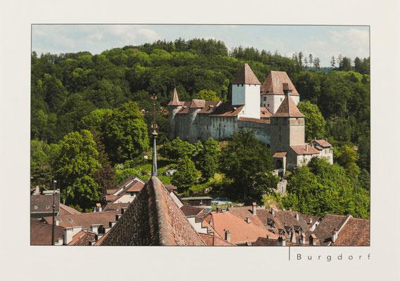 Schloss Burgdorf vom Turm der Stadtkirche aus