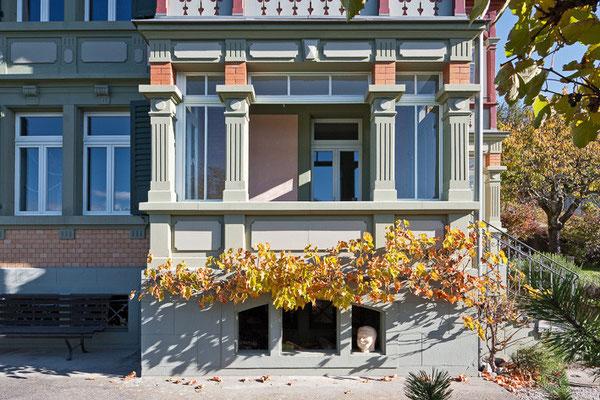 """Wohnhaus """"Viola"""", Hünibach b. Thun, Denkmalpflegepreis  Kt. Bern 2011"""