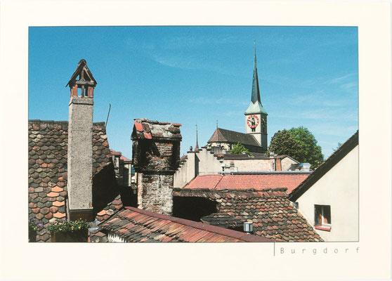 Altstadtdächer und Stadtkirche