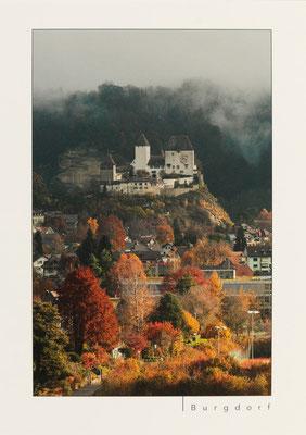 Schloss Burgdorf vom Schönebühli aus