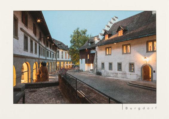 Schloss Burgdorf, Innenhof mit Restaurant