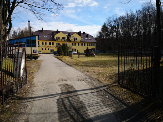 Unser Basecamp in Jaroszowiec -