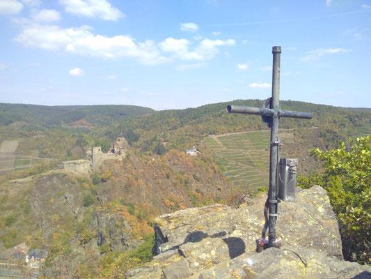 Gipfelkreuz auf der Engelsley