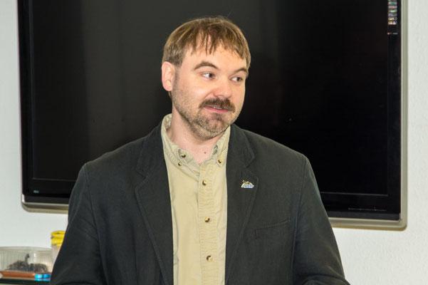 informierte René Sievert vom NABU Leipzig über den Vogel des Jahres.