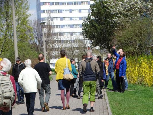 Exkursion nach der NABU-Mitgliederversammlung. Foto: Beatrice Jeschke