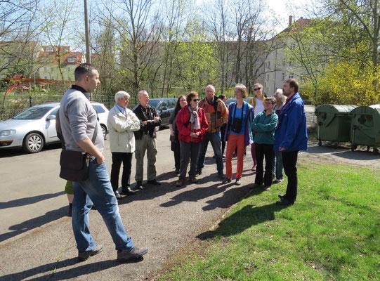 Exkursion nach der NABU-Mitgliederversammlung. Foto: Karsten Peterlein