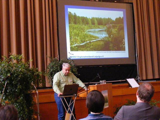 Karl Heydes Vortrag war einer von neun Fachvorträgen, die an diesem Tag gehalten wurden.