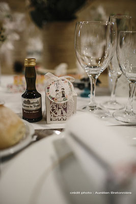 Décoration de table et cadeau invités à la Grange d'Espin thème Champêtre/Geek