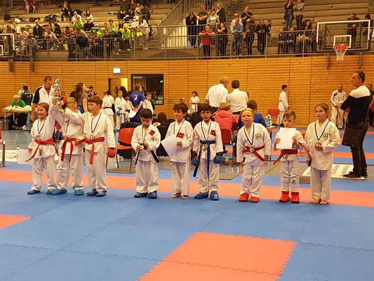 Silber für das Kumite Team U10