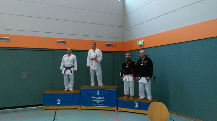 Ehsan 2. Platz MC Ü35 +80kg (links)