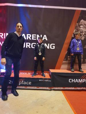 🥈2. Platz - Adam Amzil (Minicadets B U12 Male -32 kg)
