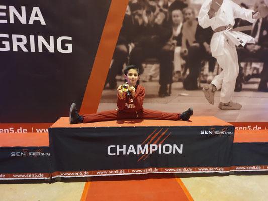 1. Platz - Selman Karabulut (Kids U10 male -30 kg)