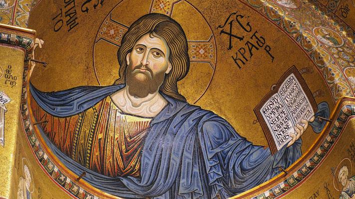 Le Christ Pantocrator de Monreale
