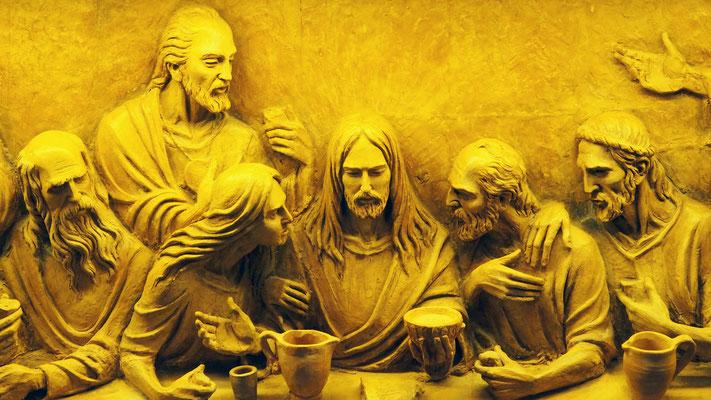 Détail de l'autel au Duomo