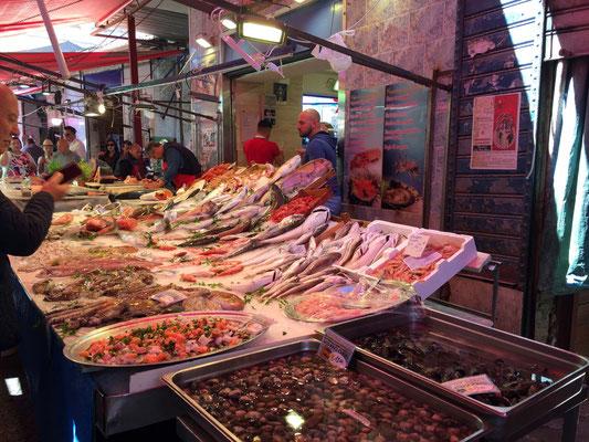 Balade dans le marché du Capo