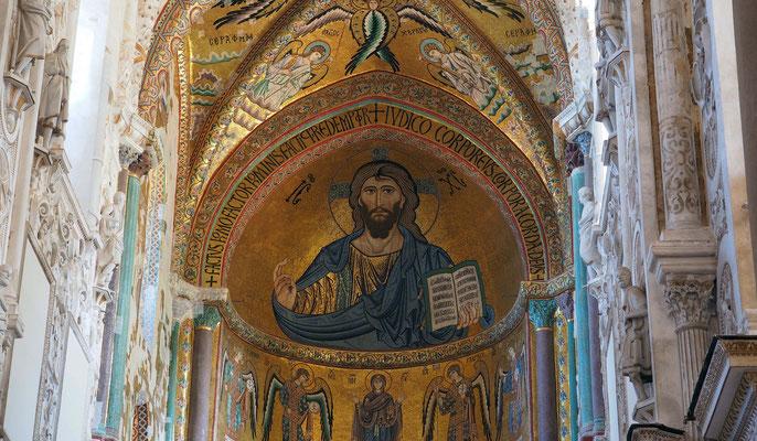 Cefalù, le Christ veille !