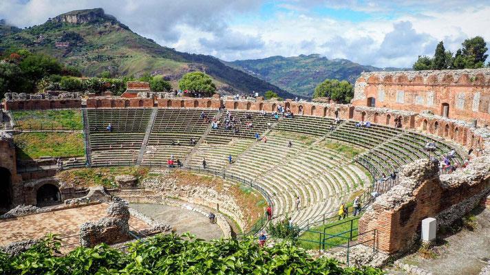 Le théâtre antique de Taormina