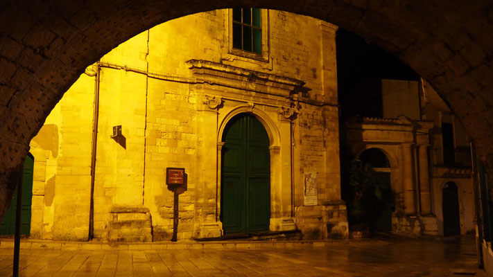 Vue de Ragusa by night