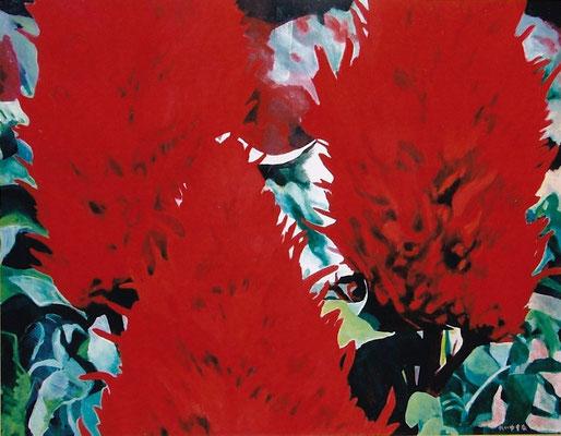 「鶏頭」1988年