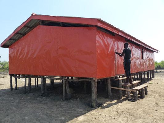 Gebäude der Vorschule in Meyingbé