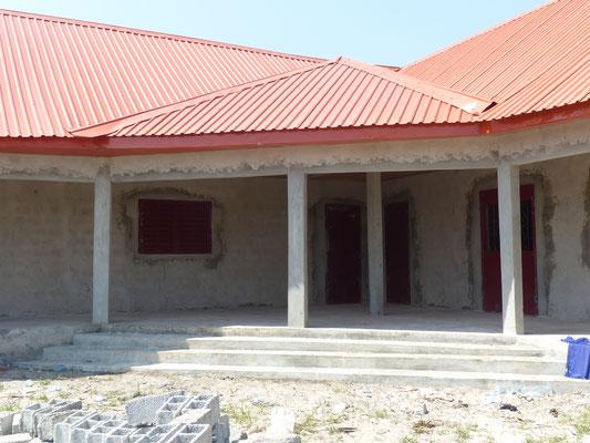 Treppenaufgang zu den Lehrerzimmern, Schulhaus DYARAMA
