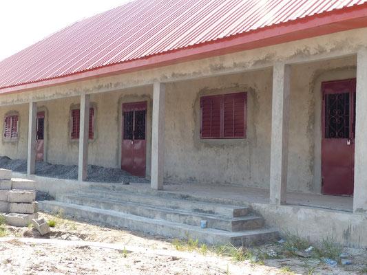 seitlicher Treppenaufgang Schulhaus DYARAMA