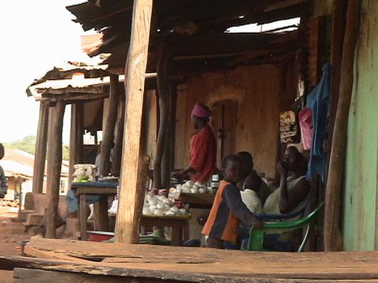 Strassenmarkt in Hahte Guinée