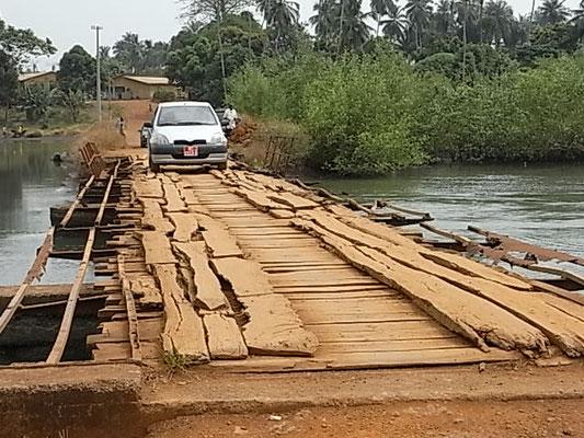 Brücke in Conakry