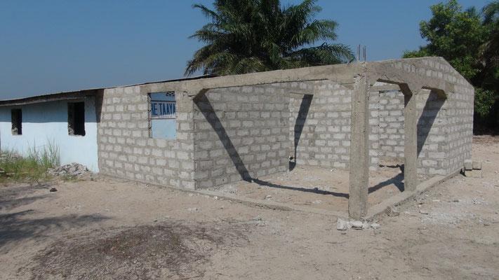 Bauphase I der Lehrerunterkünfte
