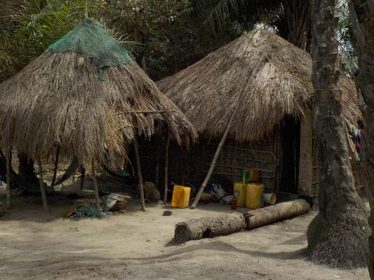 typische Häuser in Taayaki