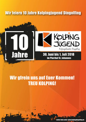 10 Jahre Kolpingjugend Dingolfing