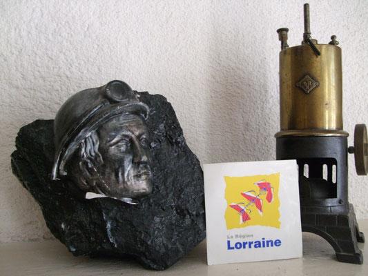 Dernier morceau de charbon Lorrain