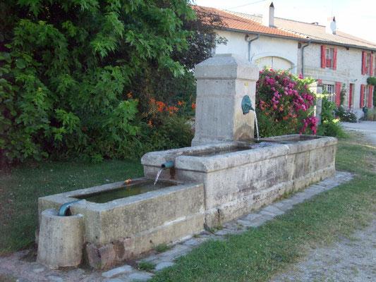 La fontaine de Rarécourt en Meuse