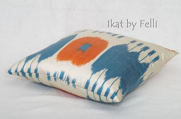 IKAT silk finest quality IKATbyFelli.com pillow Kissen seide