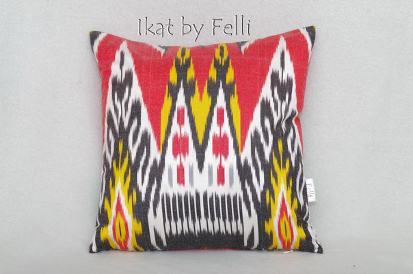 IKAT silk IKATbyFelli.com pillow Kissen