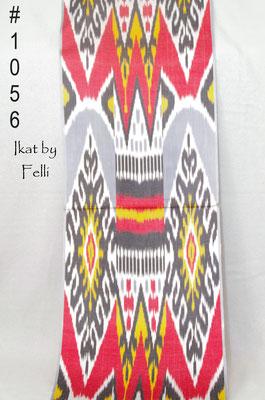 IKAT fabric silk IKATbyFelli.com pillow Kissen