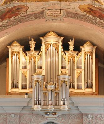 Domkirche Klagenfurt: Domorgel. Mathis 1986, III/45.
