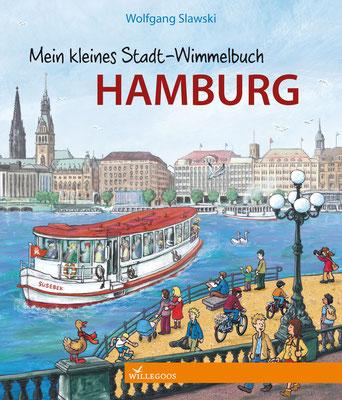 """www.amarillu.de, """"Mein kleines Stadt-Wimmelbuch Hamburg"""", erschienen im Willegoos Verlag von Wolfgang Slawski"""