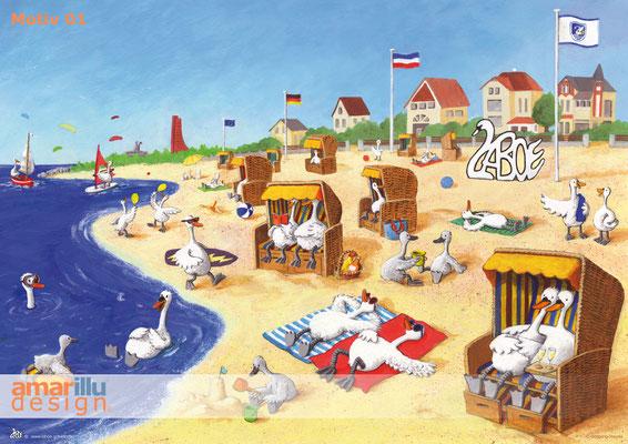 www.amarillu.de, Laboe Strand, Motiv 01
