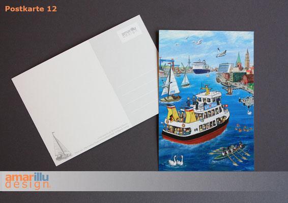 www.amarillu.de, Kiel Hafeneinfahrt hoch, Motiv 12