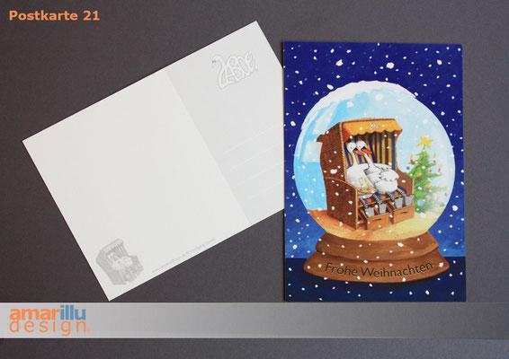 www.amarillu.de, Weihnachtskugel, Motiv 21