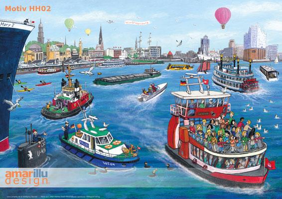 www.amarillu.de, Hamburger Hafen, Motiv HH02