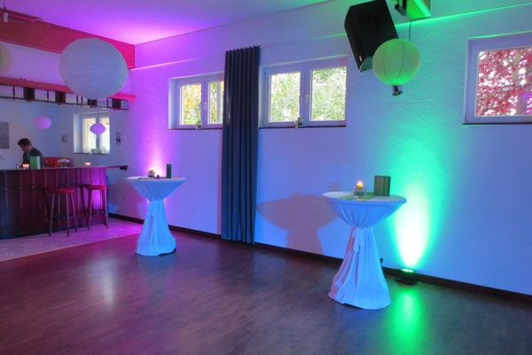 Hochzeits-DJ in Kreuzau-Thum - Paket Ambientebeleuchtung